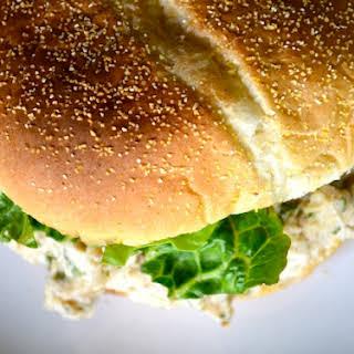 Slow Cooker Chicken Caesar Sandwiches.