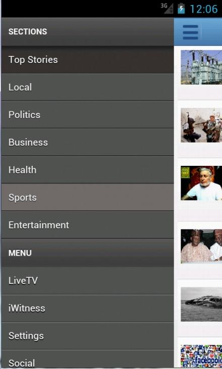ChannelsTV Mobile for Androids - screenshot