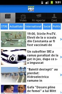StirileProTv.ro - screenshot thumbnail