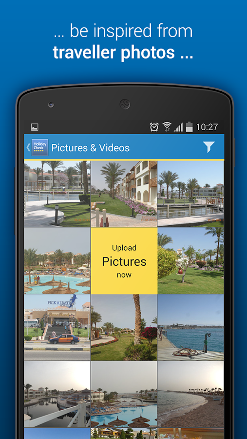 HolidayCheck - Hotels & Travel- screenshot