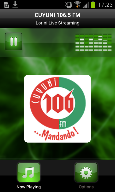 CUYUNI 106.5 FM- screenshot