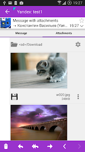 Aqua Mail - email app- screenshot thumbnail