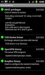 OpenVPN Settings - screenshot thumbnail