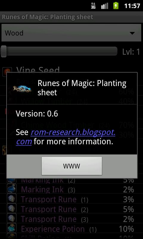 Runes of Magic - Planting - screenshot