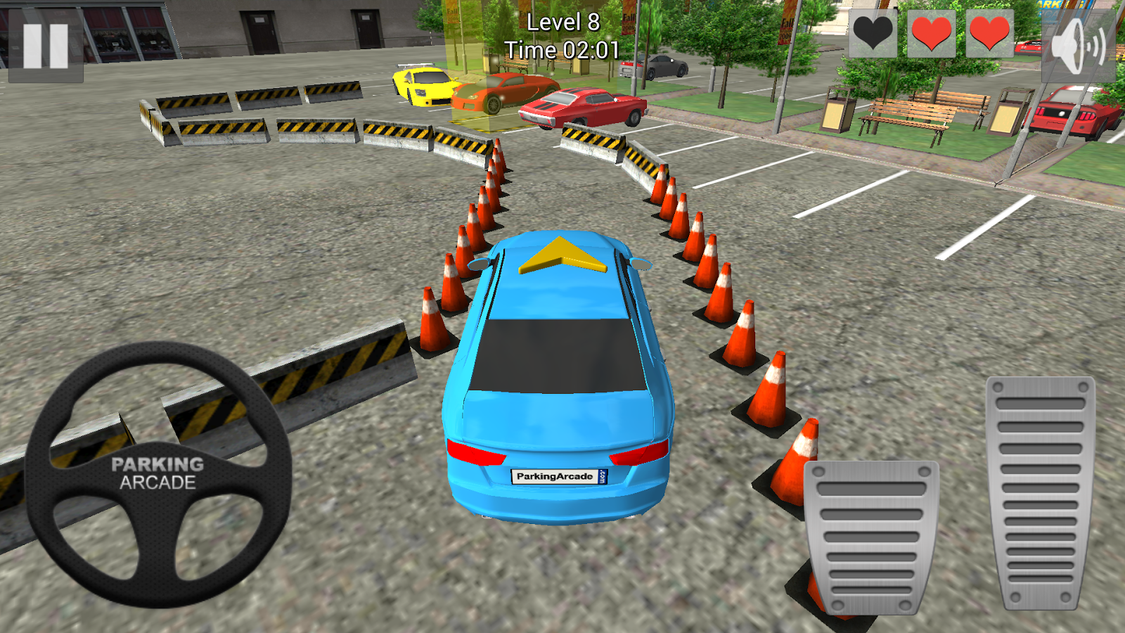 Ace Parking 3D- screenshot