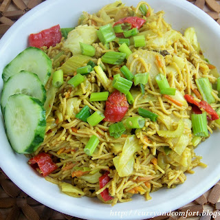 Curried Noodles with Vegetables Recipe
