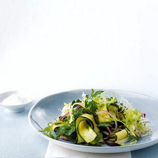 Ribboned Zucchini Salad.