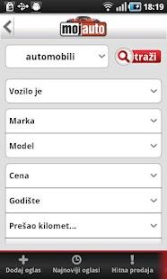 MojAuto- screenshot thumbnail