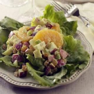 Curried Waldorf Salad.