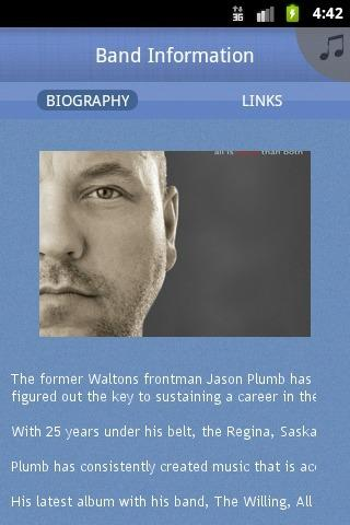 Jason Plumb and The Willing - screenshot