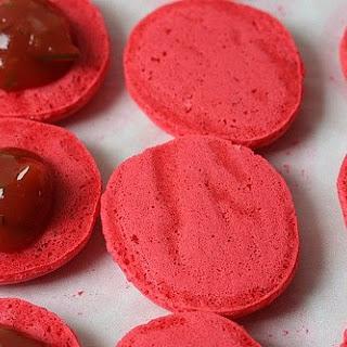 Pierre Herme's Ketchup Macarons (Ketchup Cookies)