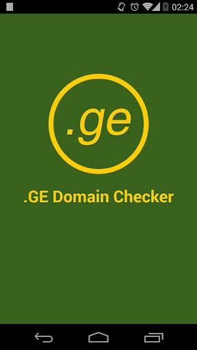 .GE Domain Checker