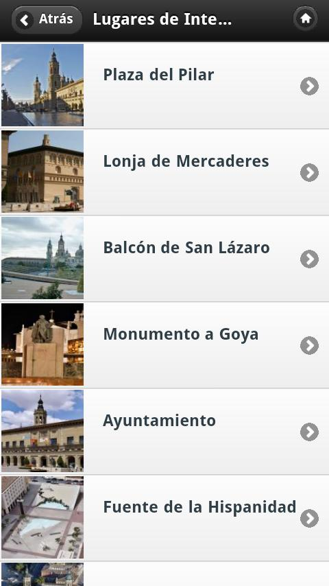 Zaragoza AudioGuia, España- screenshot