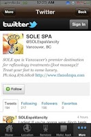 Screenshot of The Sole Spa
