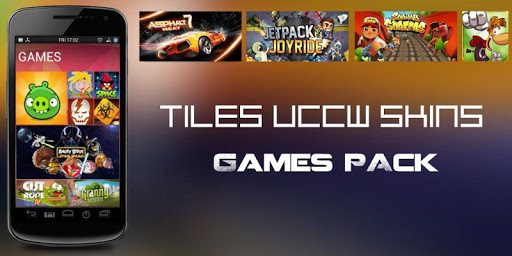 Tiles UCCW Theme Games Pack