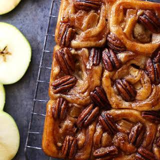 Apple Honey Pecan Sticky Buns.