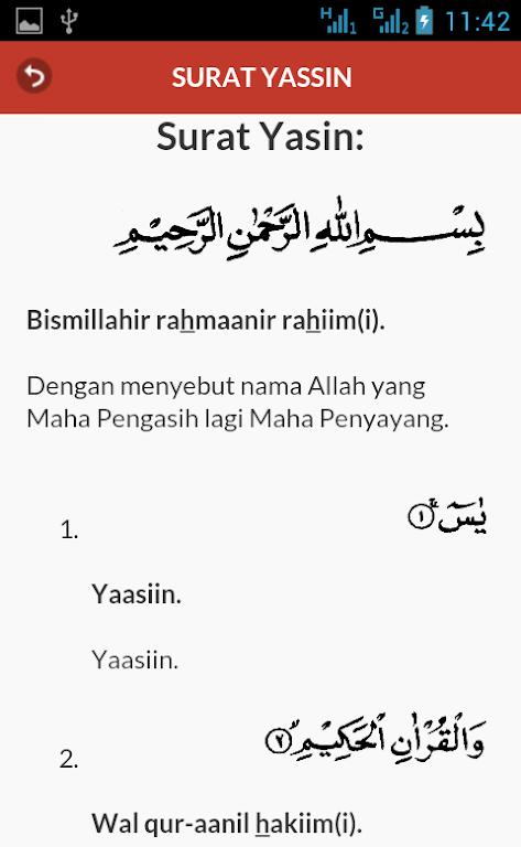 Download Surat Yasin Dan Terjemahan Apk Latest Version App