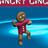 Angry gingerbread run