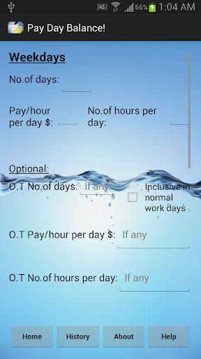 Pay Day Balance