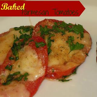 Baked Parsley Parmesan Tomatoes.