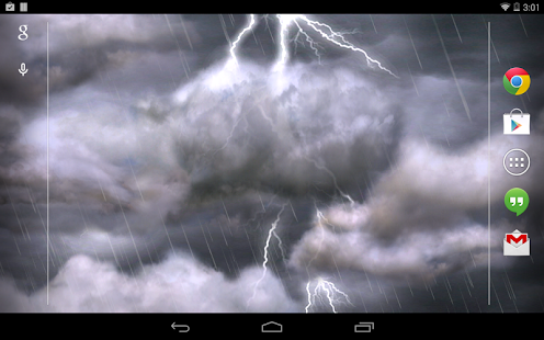 Thunderstorm Live Wallpaper - screenshot thumbnail