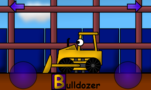 Construction Alphabet for Kids - screenshot thumbnail