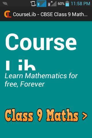 Courselib - Class 9 Maths