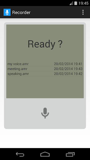Audio Memos - iPhone, iPad and iPod touch voice ... - Imesart