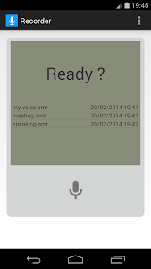 Voice Recorder screenshot 0