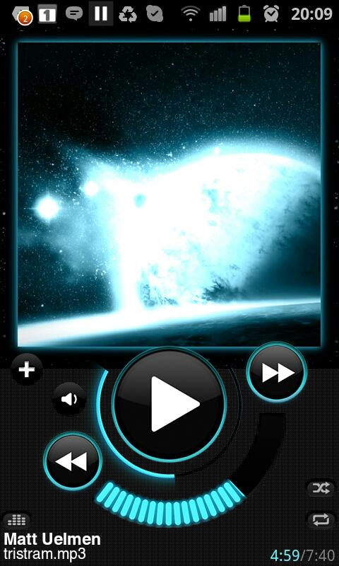 Astro Player (old)- screenshot