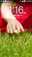 Screenshot of Lockscreen Policy (<= KitKat)