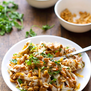 Chopped Thai Chicken Salad.