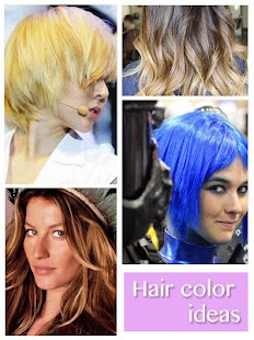 Hair color idea design