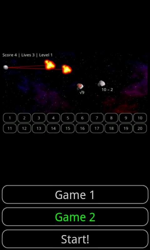 Tiny Math Game Pro - screenshot