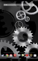 Screenshot of Steampunk Gears Wallpaper Free
