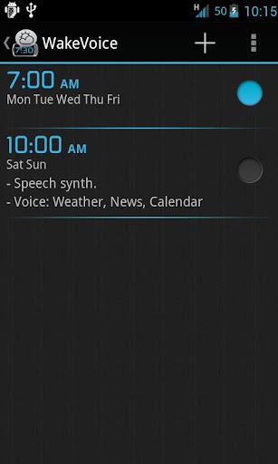 WakeVoice ★ vocal alarm clock v4.1.1 APK