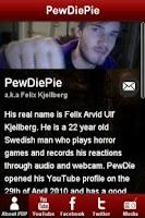 Screenshot of PewDiePie!