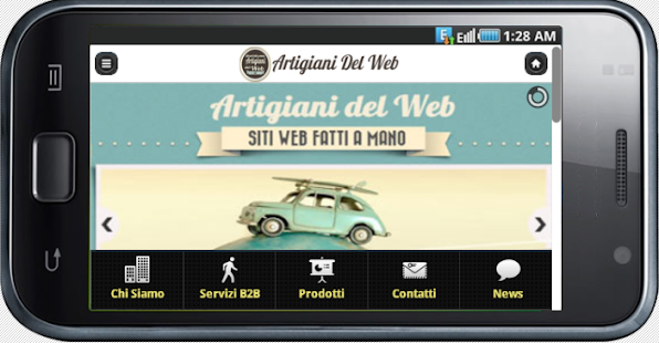 Artigiani Del Web- screenshot thumbnail
