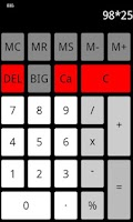 Screenshot of Flat Calculator
