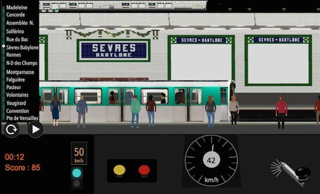 android Paris Métro Simulator Screenshot 8
