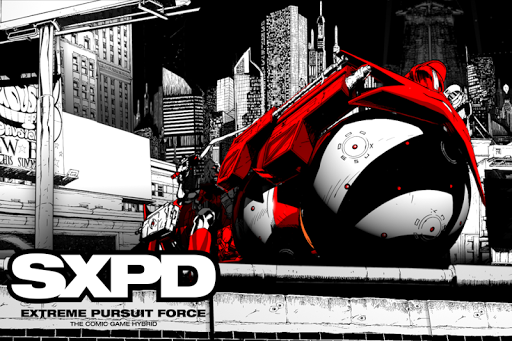 SXPD The Comicbook Game Hybrid