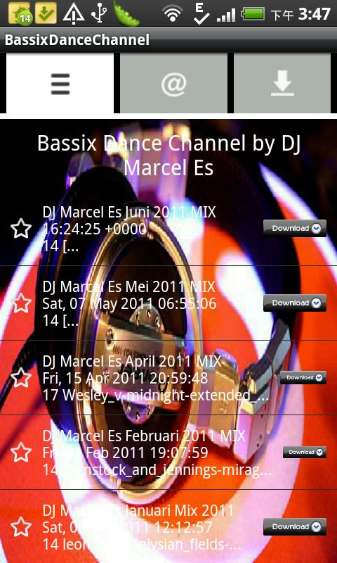 BassixDanceChannel- screenshot