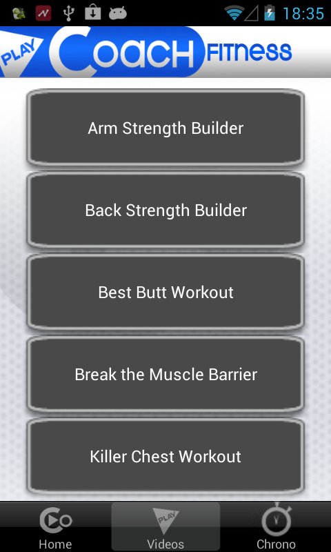 PlayCoach Full Fitness Trainer - screenshot