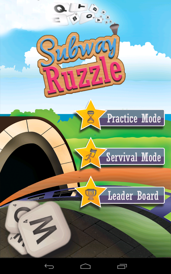 Subway Ruzzle- screenshot