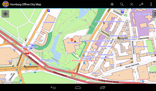 Hamburg Offline City Map Apps on Google Play