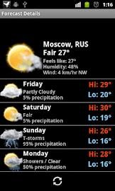 MIUI Digital Weather Clock Screenshot 5