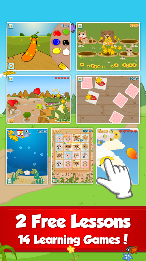 Fun English Learning Games- screenshot