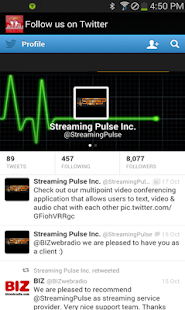 StreamingPulse- screenshot thumbnail
