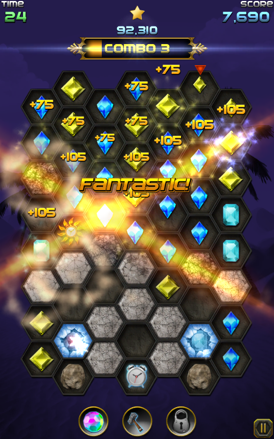 Crystal Storm- screenshot