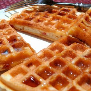 Maple-Bacon Waffles.